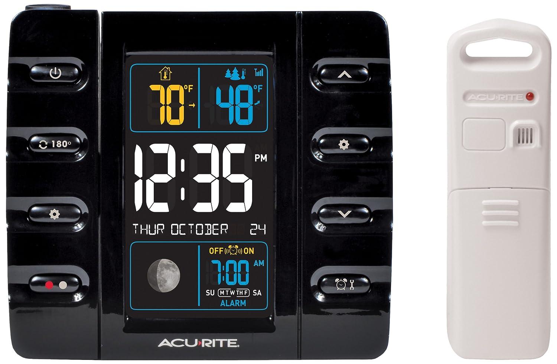 Amazoncom AcuRite 13020 Intelli Time Projection Alarm Clock