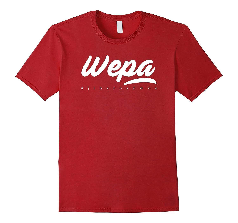 Wepa Boricua jibarosomos T-Shirt-CD