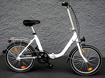 Bicicleta plegable twenty