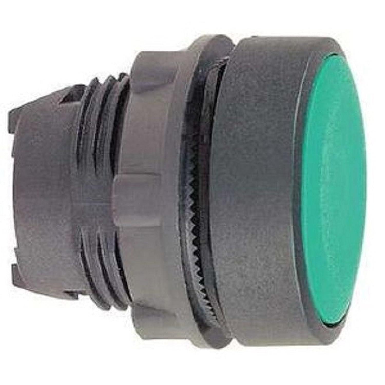 Schneider Electric zb5aa3 Green Head Push Button, Plastic Mounting Bezel Material, 22 mm Diameter 22mm Diameter Schneider Electric SE