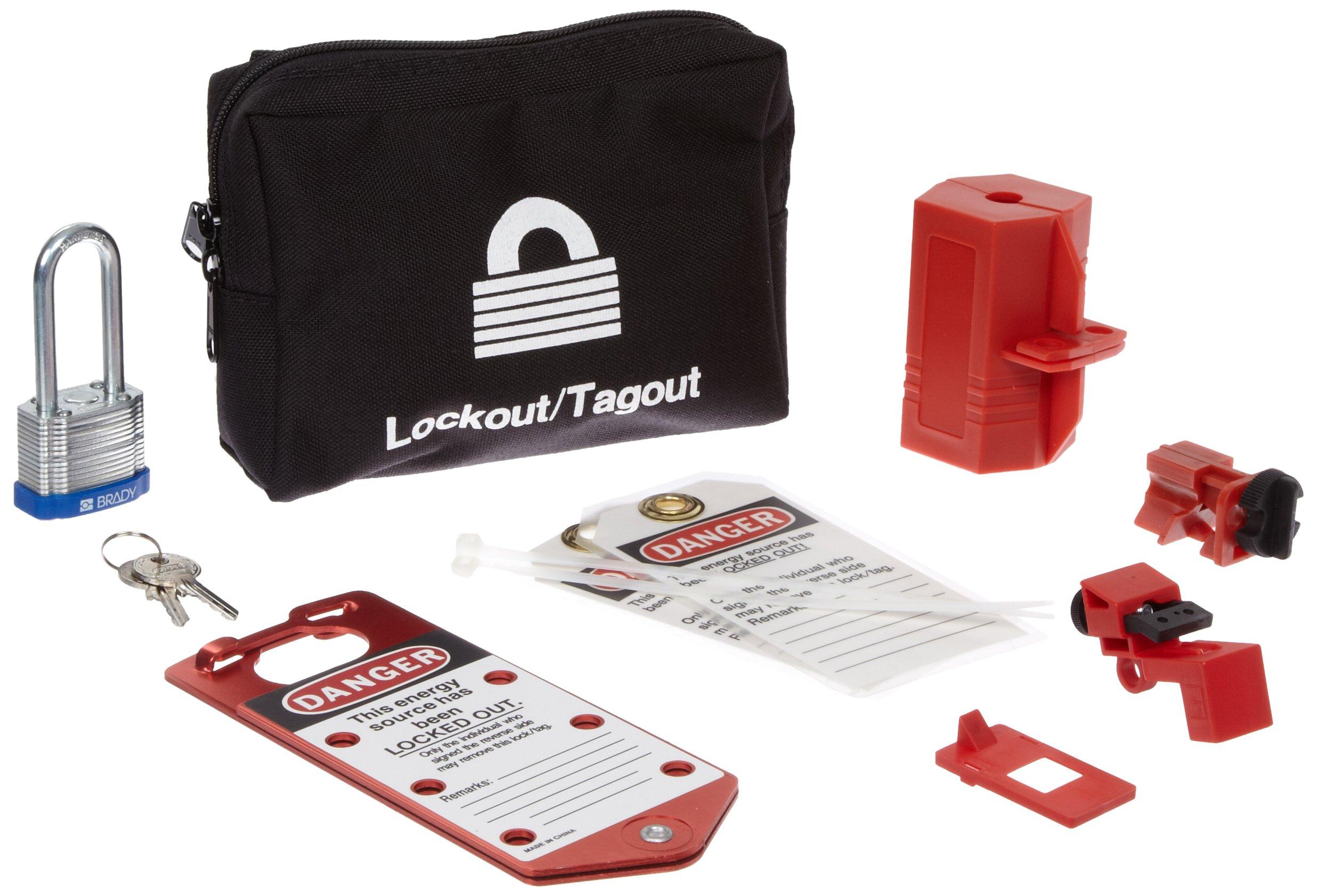 Brady 65291 Electrical Lockout Pouch (1 Kit)