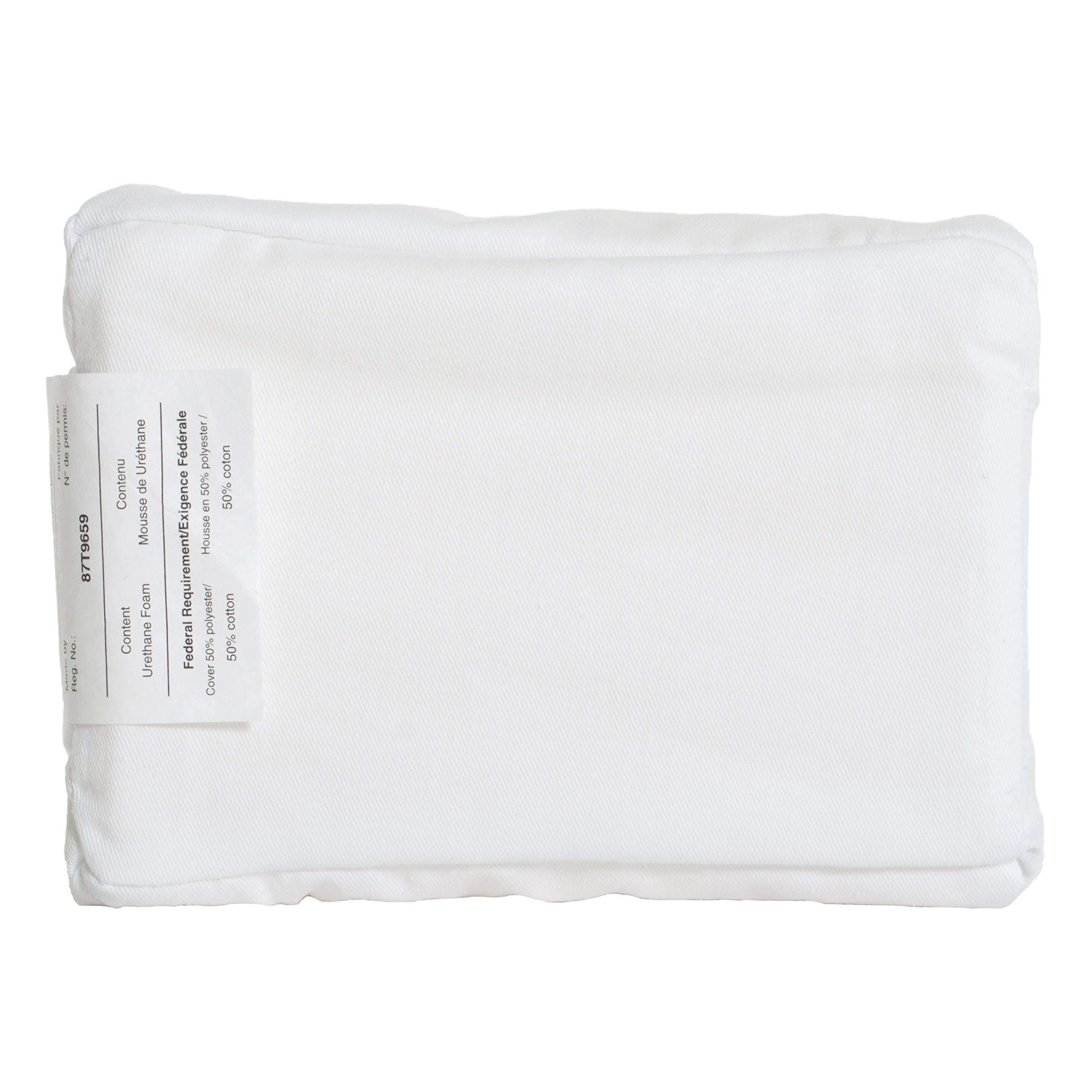 PCP Hip Abduction Block Waist Side Pillow with Cover, White