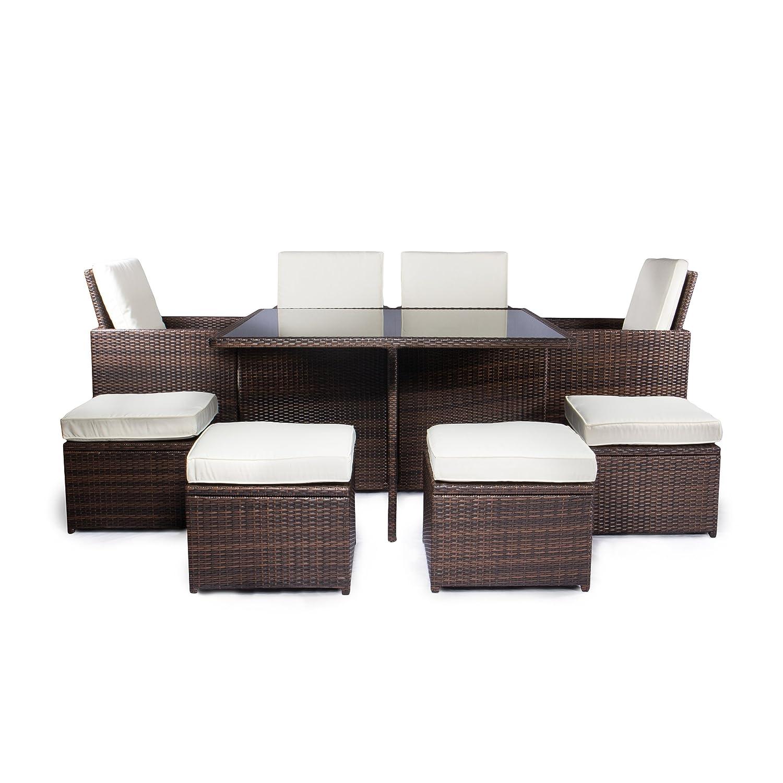 vanage gartenm bel sets gartengarnitur gartenm bel chill und lounge set sydney braun creme. Black Bedroom Furniture Sets. Home Design Ideas