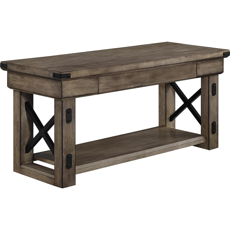 Amazon Ameriwood Home Wildwood Wood Veneer Entryway Bench