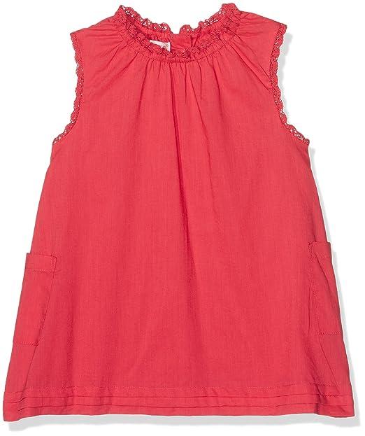 Gocco S73CBCNV402, Blusa para Niñas, Naranja (Coral Oscuro), 7-8