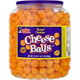 Utz Cheese Balls – 23 Ounce Barrel (1.44 lbs) – Made with Real Cheese, Resealable Container, Gluten Free, Easy and Quick Part