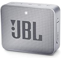 JBL GO 2 - JBLGO2GRY Mini Enceinte Bluetooth portable - Étanche pour piscine & plage IPX7 - Autonomie 5hrs - Qualité audio JBL - Gris