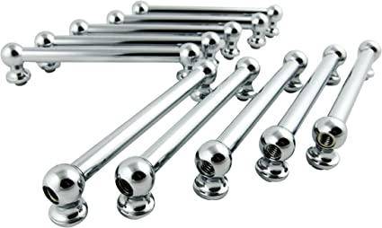 Goedrum 10 Double End Tom Drum Lugs with Mounting Screws