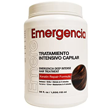Amazon.com : Emergencia (Emergency) Deep Intensive Keratin Repair Treatment by Toque Magico 56oz : Hair And Scalp Treatments : Beauty