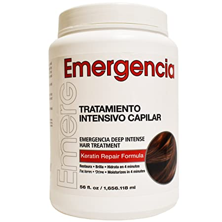 Emergencia Emergency Deep Intensive Keratin Repair Treatment by Toque Magico 56oz