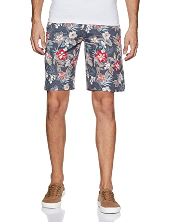 Flying Machine Men's Cotton Shorts Men's Shorts at amazon