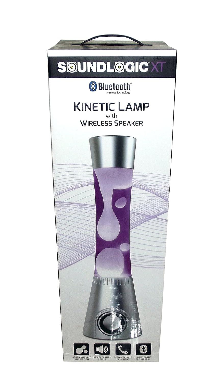 Sound Logic XT Kinetic Lamp With Wireless Speaker (Orange)     Amazon.com