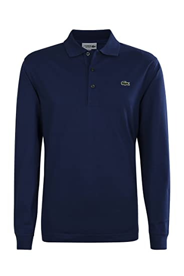 ShirtAmazon Sleeve Polo co L1330 ukClothing Men's Long Lacoste wn08mN