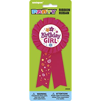 Birthday Girl Award Ribbon: Kitchen & Dining [5Bkhe0503385]