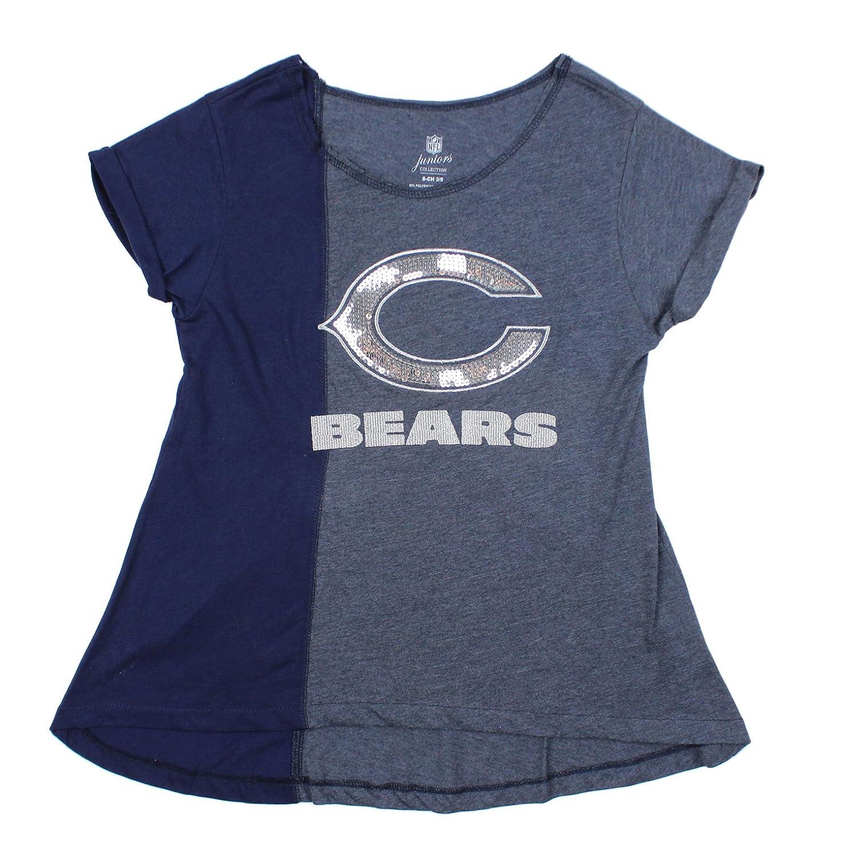 非売品 Chicago Bears Bears NFLジュニアWomen 's 7-9 Harlequinキラキラファッショントップ、ネイビー Medium 's 7-9 B014JUTGXS, メガネ工場:550d5e68 --- a0267596.xsph.ru