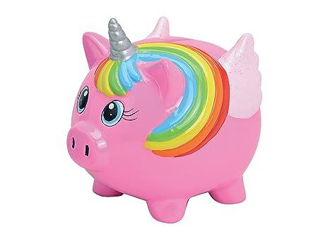 Childrens Unicorn Piggy Bank Pig Money Box Quot Tin Signquot