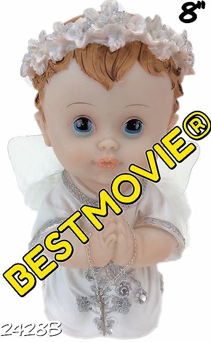 Amazon Com Praying Baby Boy Statue Brand New Jesus 2428b Bebe