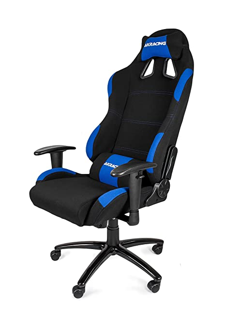 AKRacing K7012 - AK-7012-BL - Silla Gaming, Color Negro/Azul