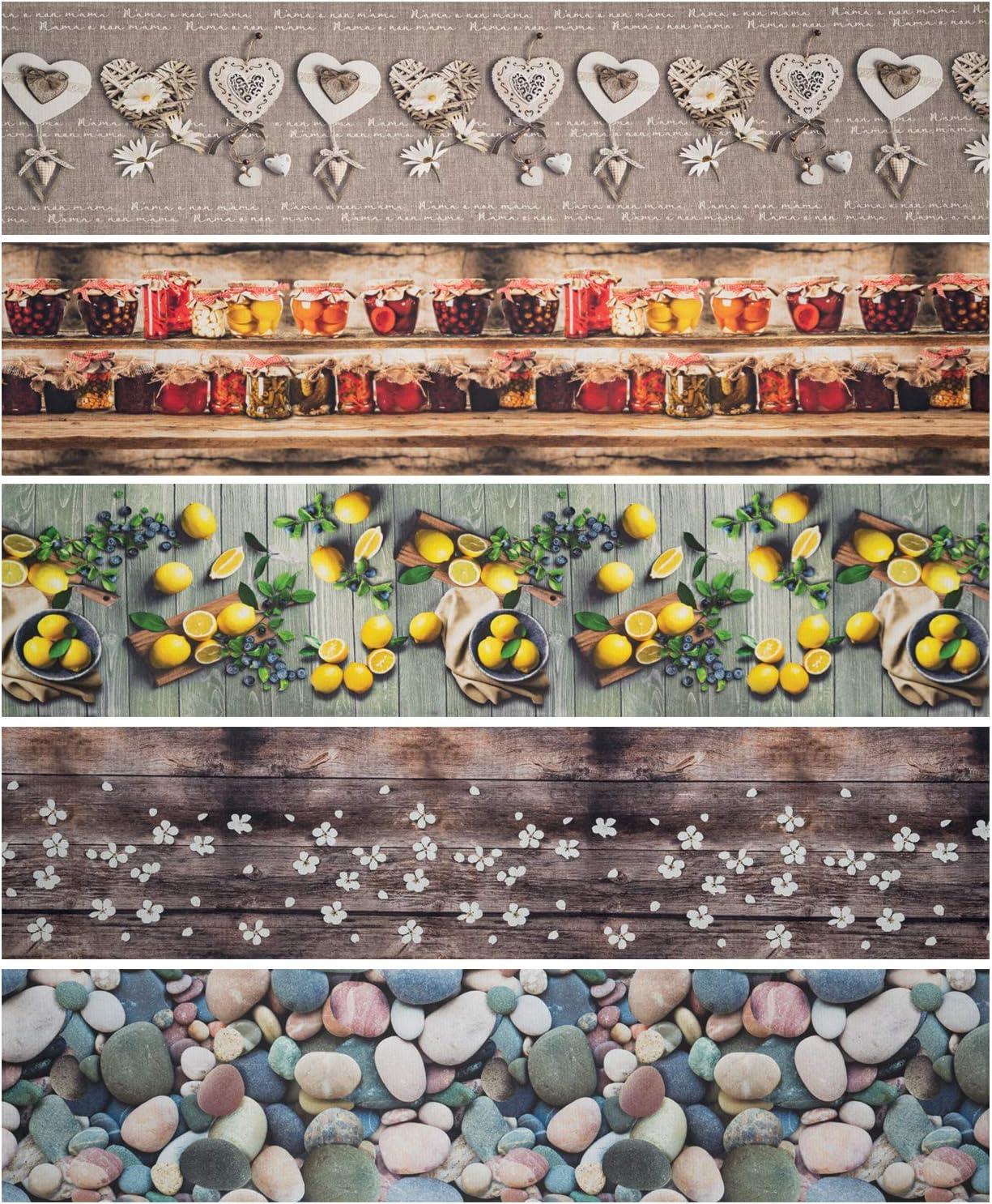 WohnDirect K/üchenl/äufer f/ür Innen bis 10m L/änge /• 100/% Polyester K/üchenl/äufer rutschfest /& leicht abwaschbar /• 50 x 50 cm