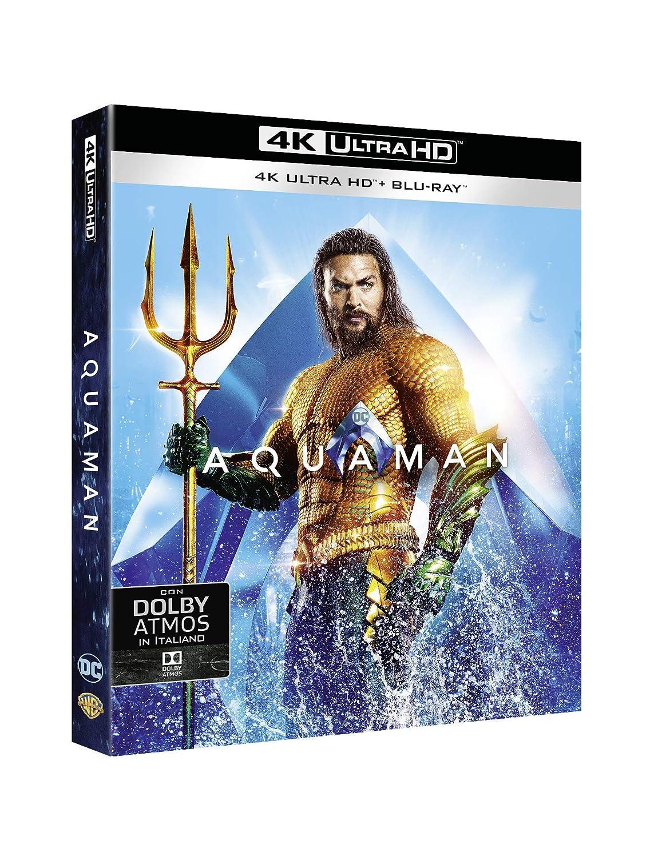 Aquaman (4K Ultra Hd+Blu-Ray) [Italia] [Blu-ray]: Amazon.es: Willem Dafoe, Amber Heard, Jason Momoa, Tamuera Morrison, James Wan, Willem Dafoe, Amber Heard: Cine y Series TV