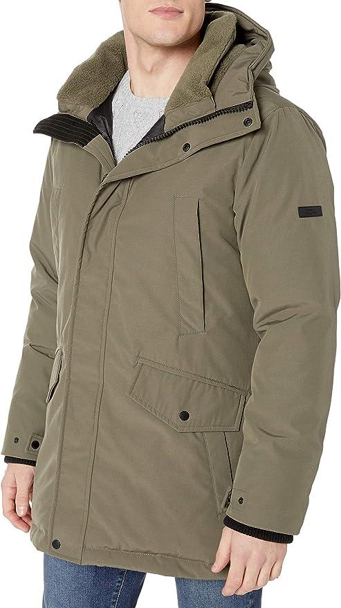 Vince Camuto 男式中长款羽绒服外套 XL码1.3折$39.52 海淘转运到手约¥364