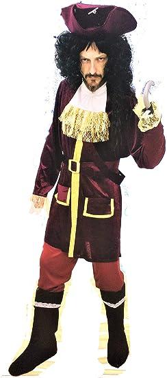 SP Disfraz de Pirata. Edición de Lujo. Talla XL, de hombre ...