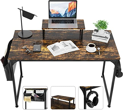 ETECHMART 55 inch Home Office Computer Desk