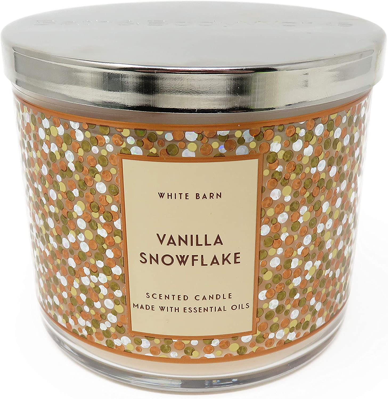Bath /& Body Works Assorted WHITE BARN 3-WICK Jar Candles NEW **** SALE ****