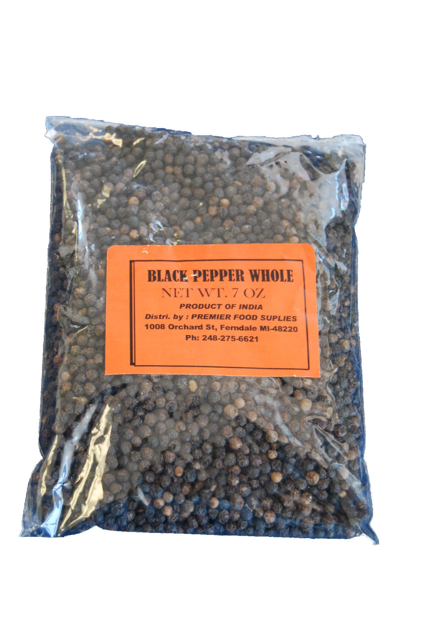 Premier Black Pepper Whole 7oz(200g)
