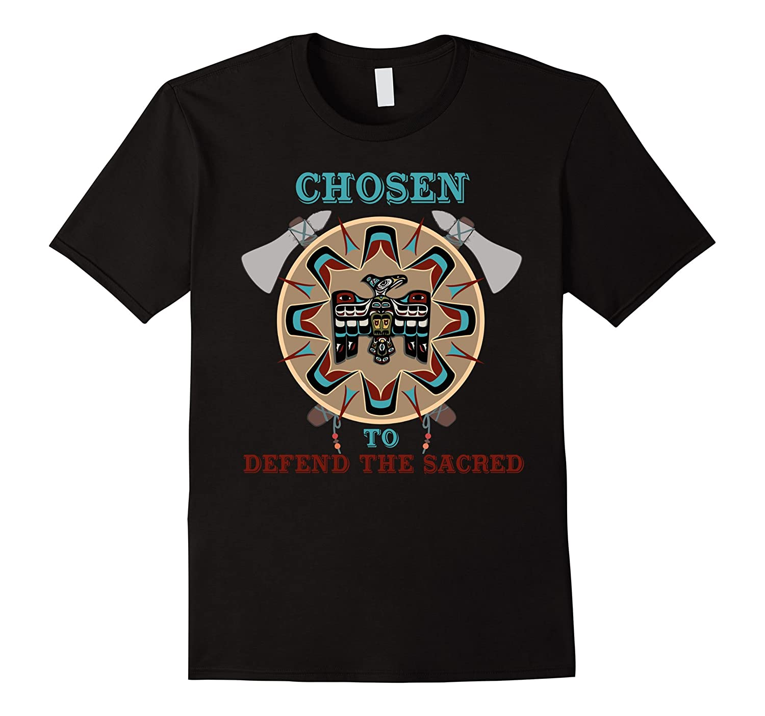 Chosen to Stand With Standing Rock Nodapl Pipeline t shirt-CD