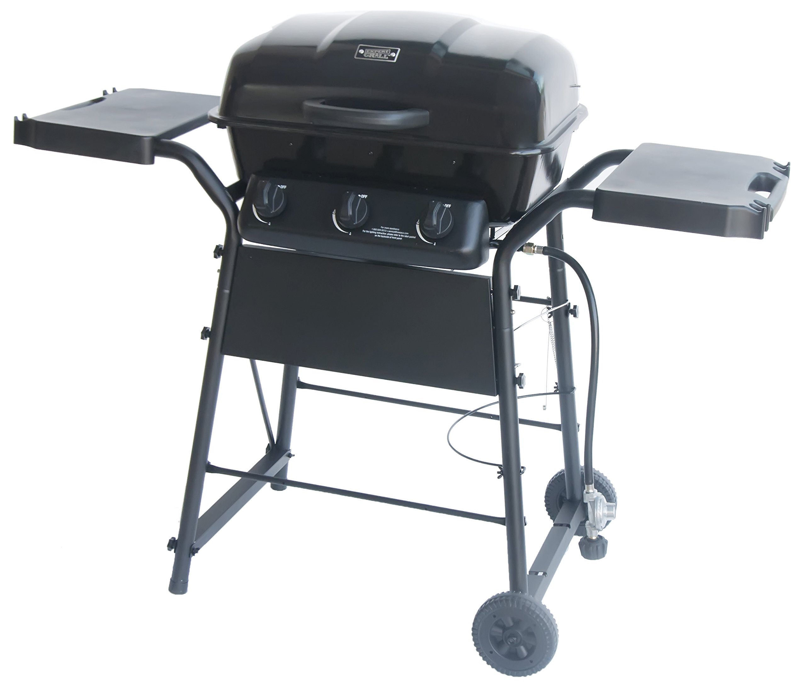 Gas Grill 3 Burner Space Saver by Expert Grill