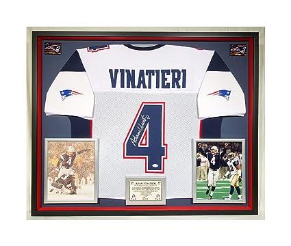f717e304a Premium Framed Adam Vinatieri Autographed Signed New England ...