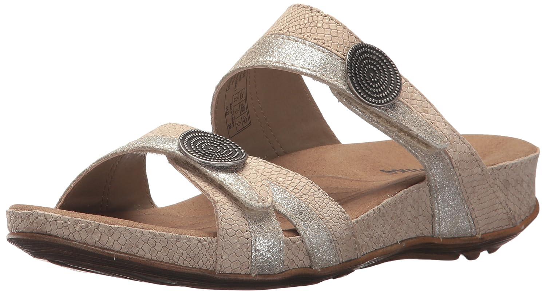 Romika Women's Fidschi 22 Dress Sandal B074G7NTG6 38 M EU (7-7.5 US)|Gold