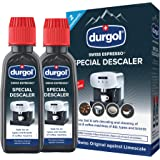 Durgol 291 Swiss Espresso Decalcifier or All Brands of Espresso, Clear