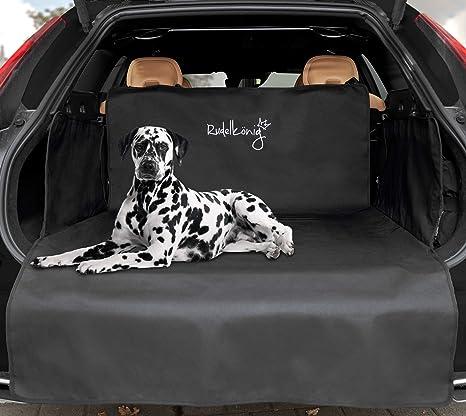 Rudelkönig Universal Kofferraummatte - Idealer Kofferraumschutz für Hunde - Widerstandsfähige Autodecke mit Ladekantenschutz