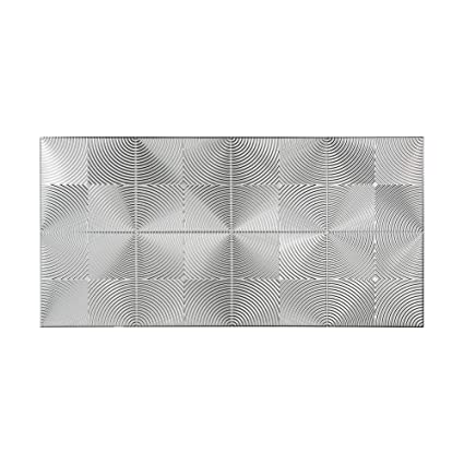 Amazon Com Fasade Echo Brushed Aluminum Decorative Wall Panel