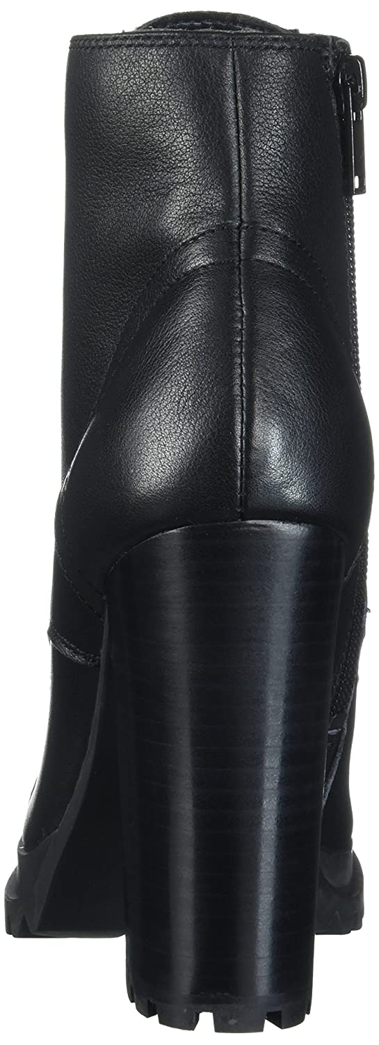 f7456a47087 Aldo Women's Marille Ankle Bootie, Black Leather, 6 B US: Amazon.co ...