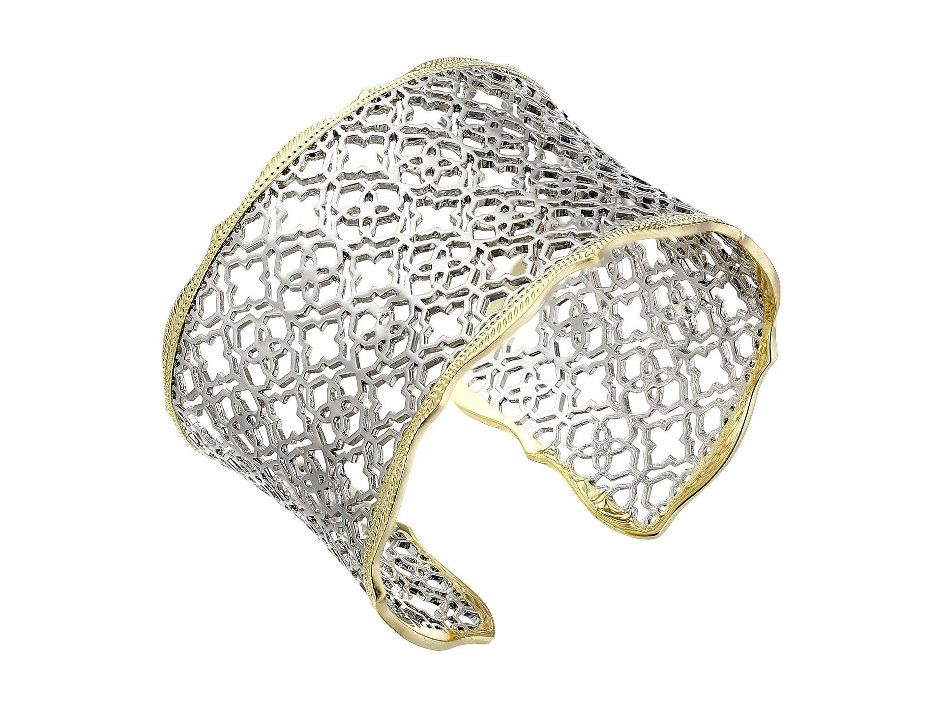 Kendra Scott Women's Candice Bracelet Mixed Gold/Rhodium Bracelet