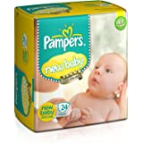 Pampers New Baby Diapers (24 Count)