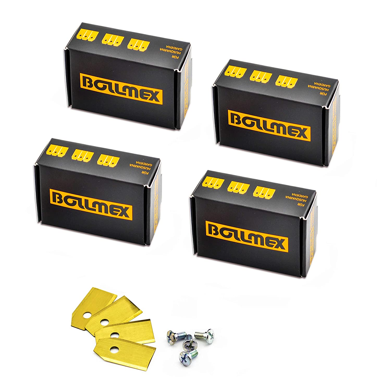 Bollmex - Cuchillas de titanio (120 unidades, 0,75 mm, con 120 ...