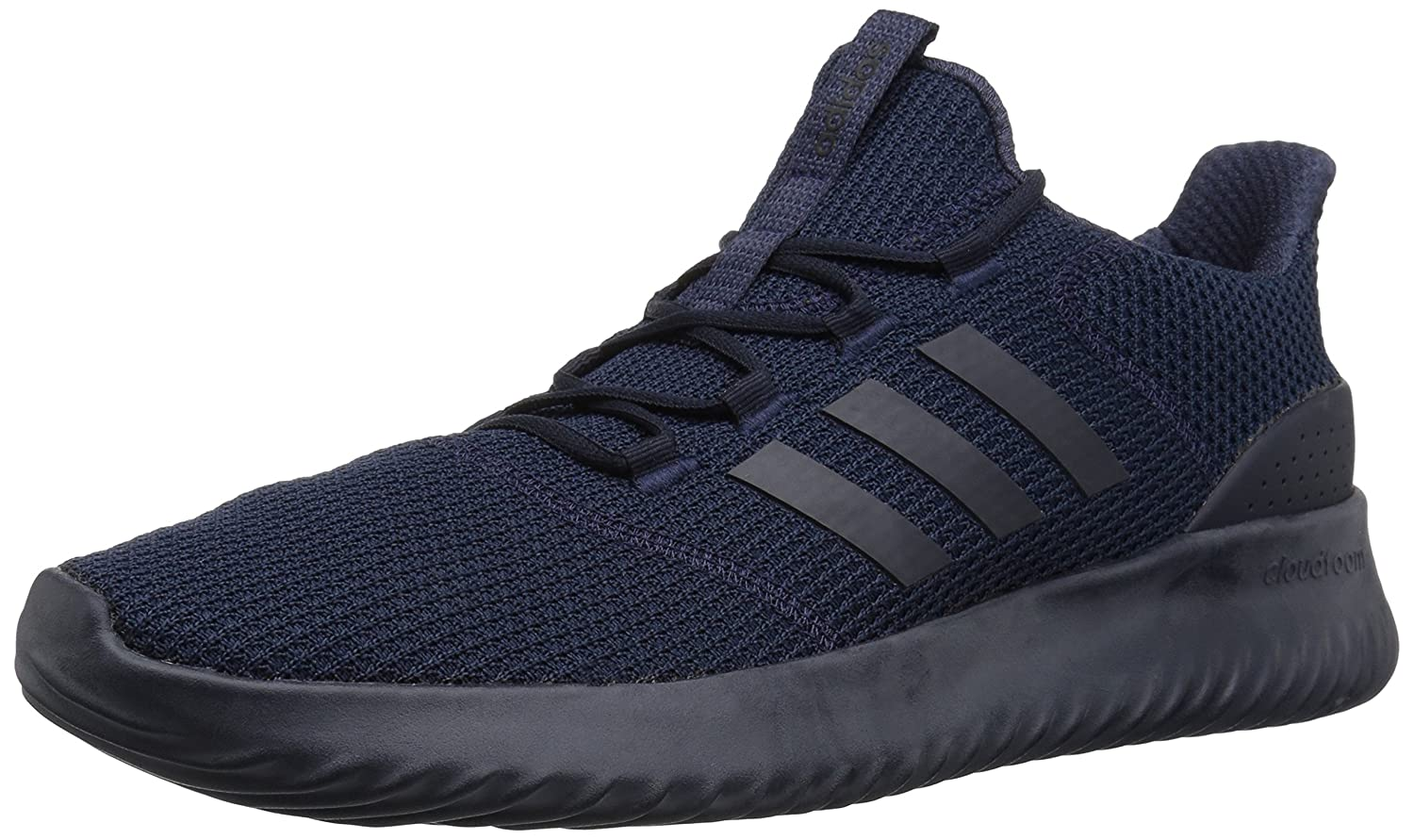 adidas Men's Cloudfoam Ultimate Running Shoe B077XBKFDV 8.5 D(M) US|Legend Ink/Legend Ink/Trace Blue