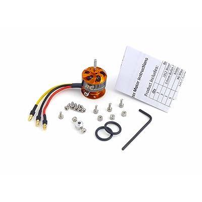CF2812 Brushless Motor Kit with 3.5mm Bullet Plugs 1534Kv 2-3s Li-Po: Toys & Games
