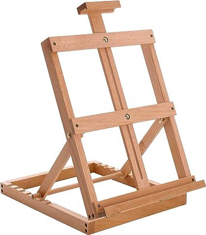 VOSAREA Photo Painting Tabletop Wood Display Artist A-Frame Easel Photo Frame Bracket