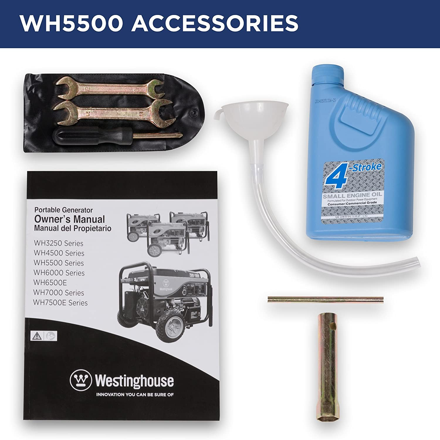 WH5500 Camping Generator Accessories
