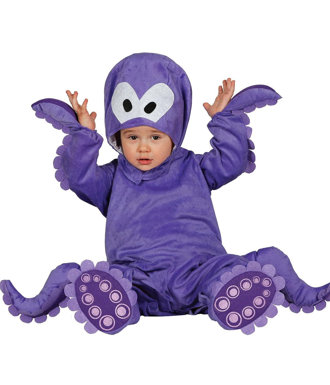 Guirca Kostüm Oktopus Baby, Gr. 12–24Monate (86001.0)