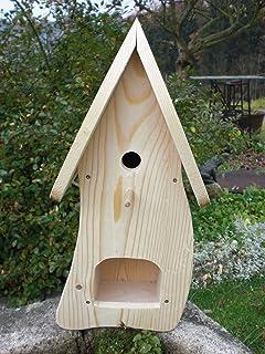 Dekorativer Nistkasten(NB1) Mit Vogelfutterhaus Zum Selbst Bauen  Bausatz Vogelhaus