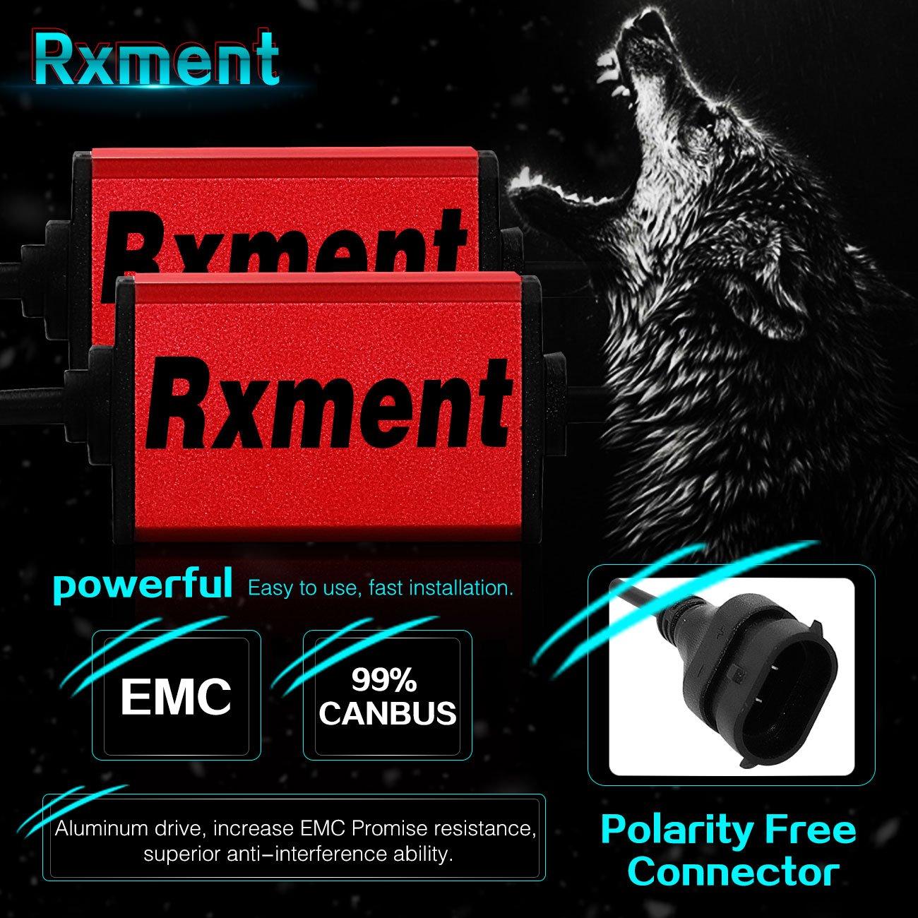 CREE XHP50 Rxment White H11//H8//H9 H11 LED Headlight Bulb 2 Pack