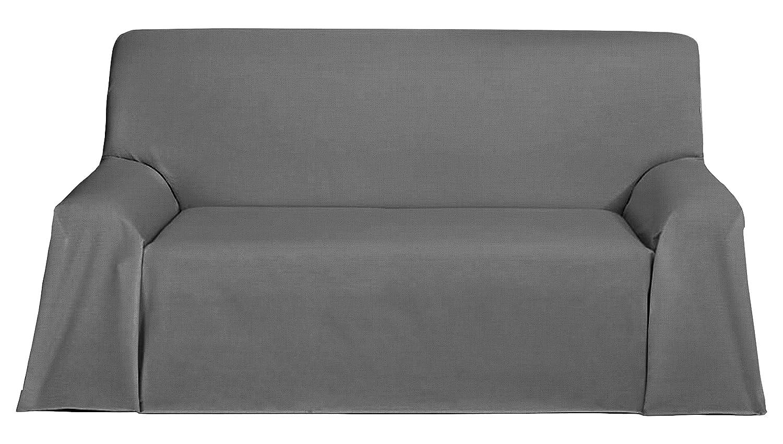Martina Home Foulard, Tela, Gris, 300 x 270 cm