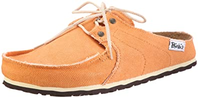Birkenstock Super Skipper Canvas Shoe  Orange Size EU40