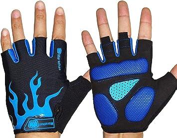 Morethan - Guantes de ciclismo unisex, guantes para ciclismo de ...